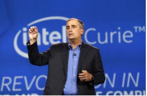 Il Ceo di Intel Brian Krzanich