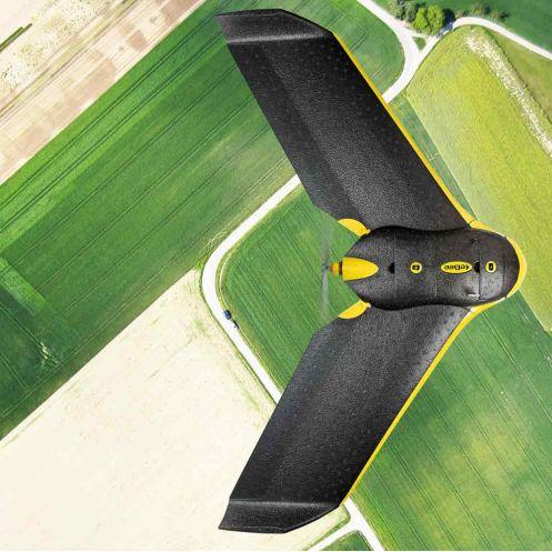 Il drone eBee di Parrto