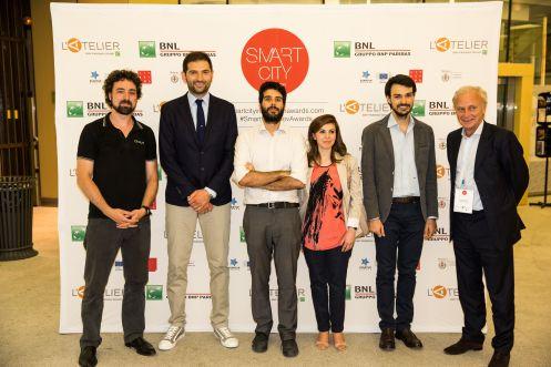 I vincitori del primo Smart City Innovation Award