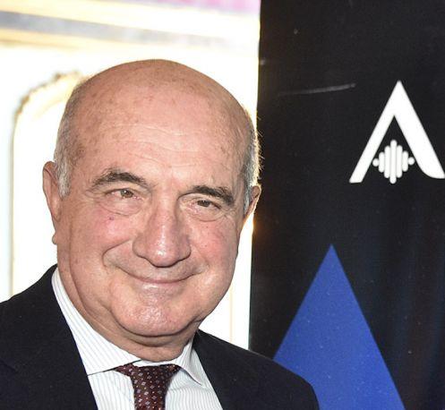 Alberto Tripi, Presidente del Gruppo AlmavivA alla presentazione di Giotto