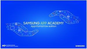 App4Tomorrow Edition di Samsung App Academy
