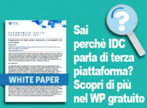 Bottone terza Piattaforma IDC White paper