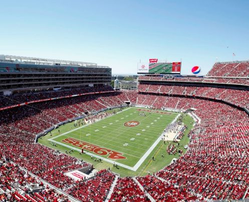 Il Levi Stadium a Santa Clara, California