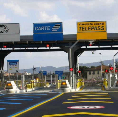 smart city rfid autostrade