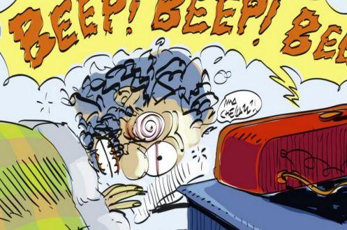 La prima vignetta di Makkox dedicata a IoE TV