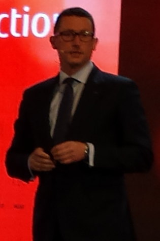 Duncan Tait, Director and Corporate Executive Officer, EVP and Head of EMEIA di Fujitsu