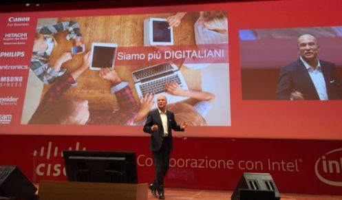 Agostino Santoni, amministratore delegato di Cisco Italia a IoEtalks