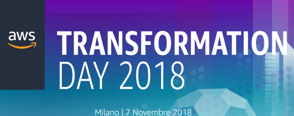 aws transfromation day 2018