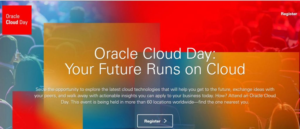Oracle Cloud Day 2018