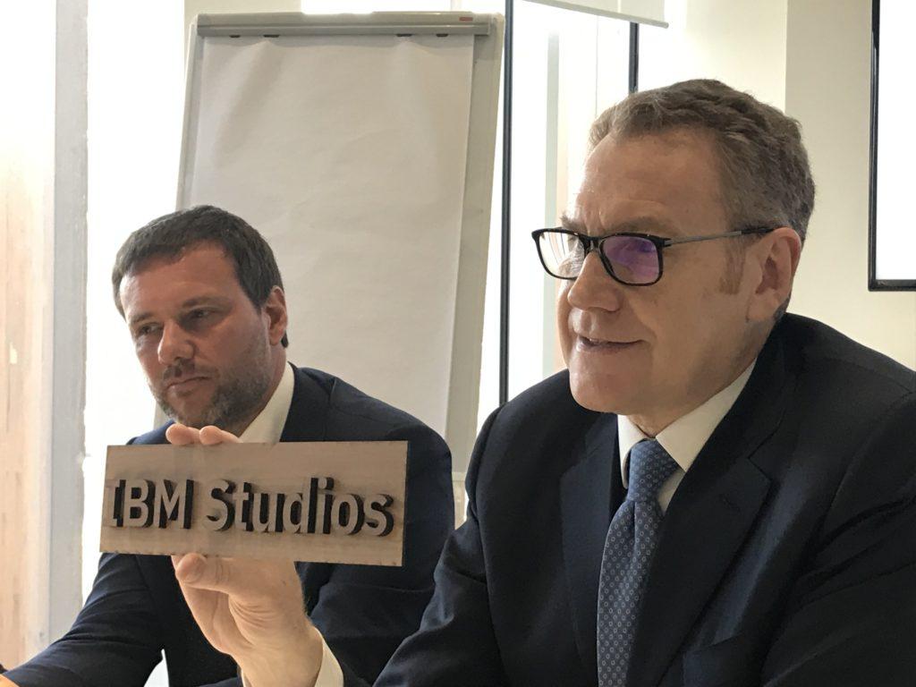 Enrico Cereda, IBM Studios
