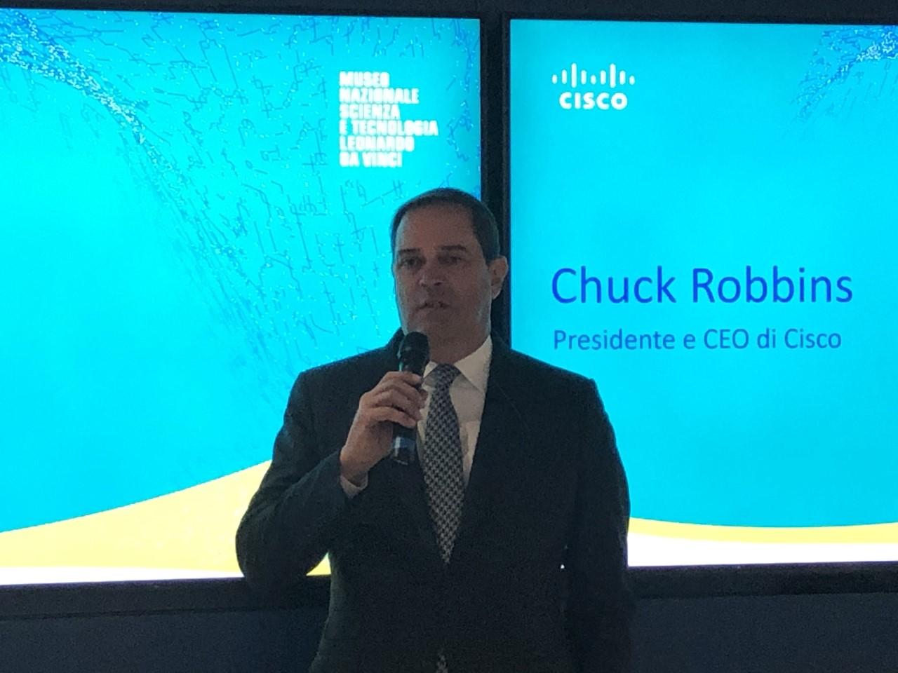 Chuck Robbins - Cisco