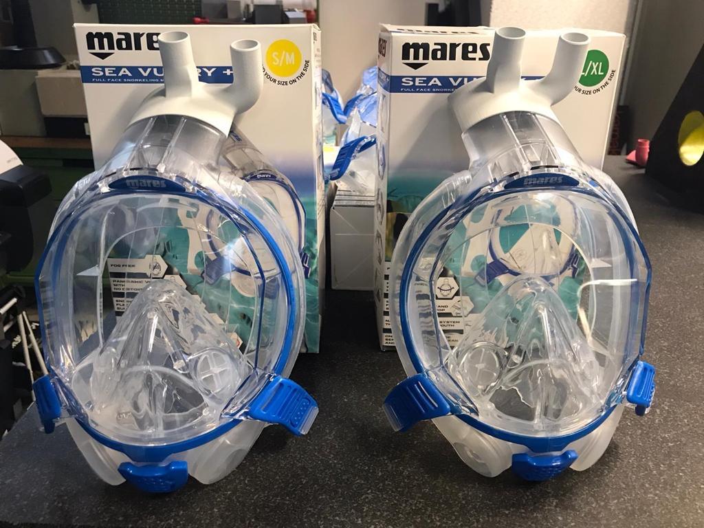 Mares Spa Maschere Snorkeling adattate