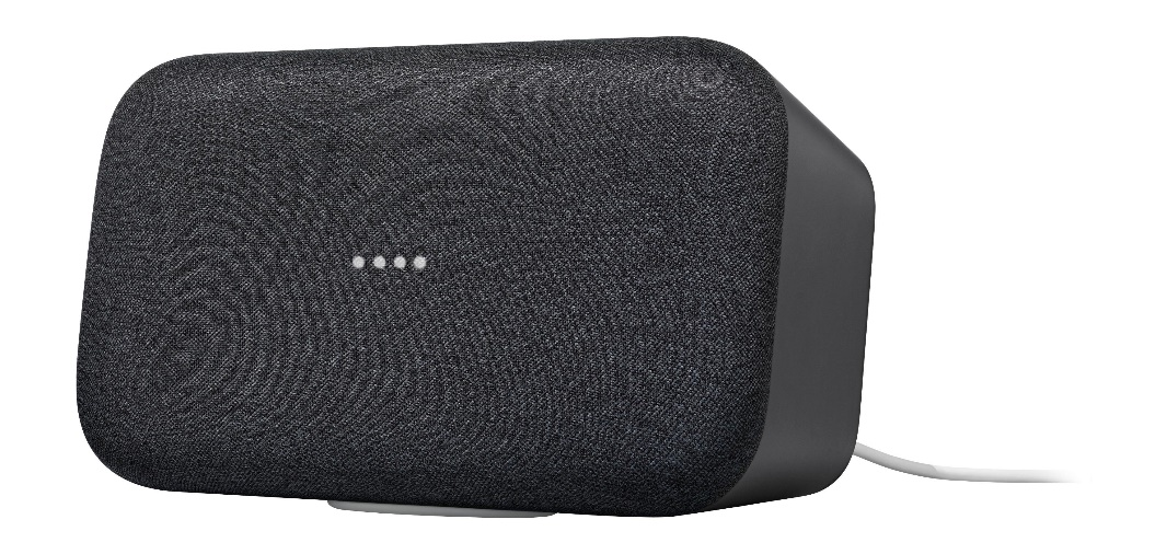 Home Max Smart Speaker with Google Assistant Charcoal GA00223-US - Best Buy