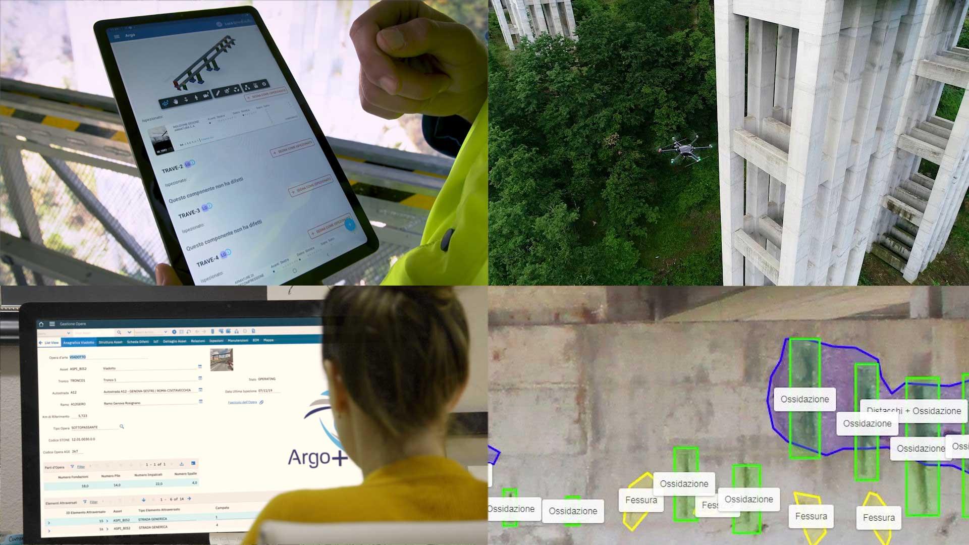 Argo monitoraggio infrastrutture