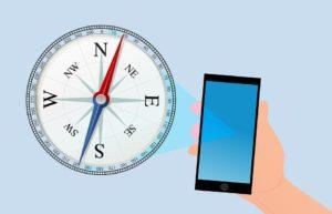 Bussola, Smartphone, Gps, Navigazione, Viaggio, Smart